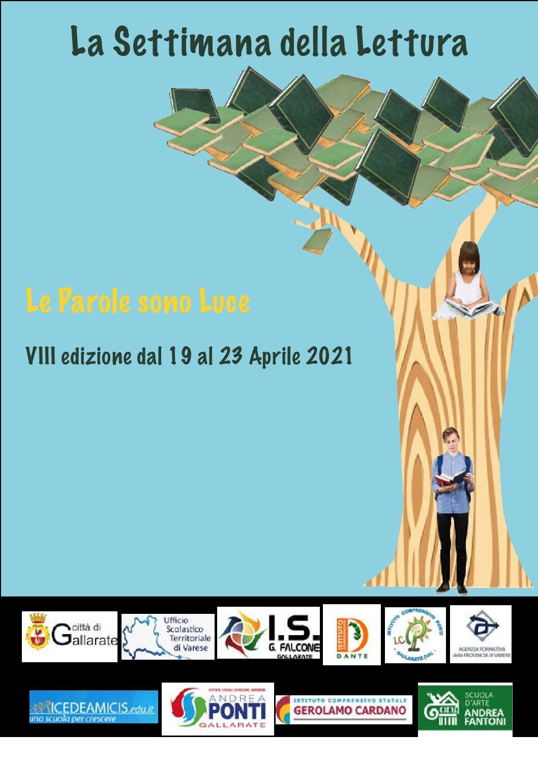 SETTIMANA DELLA LETTURA DAL 19 AL 25 APRILE 2021