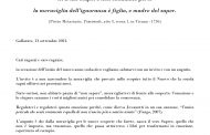 AVVIO ANNO SCOLASTICO 2021-22 :  GLI AUGURI DELL'AMMINISTRAZIONE COMUNALE